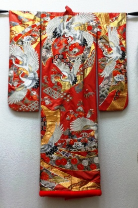 My mother's red kimono.