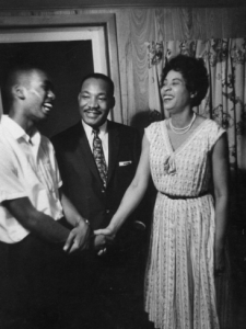 Ernest Green, Dr. Martin Luther King Jr. and Daisy Bates